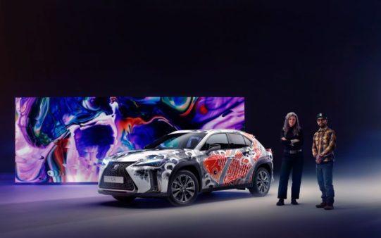 Lexus Unveils World's First Tattooed Car 12