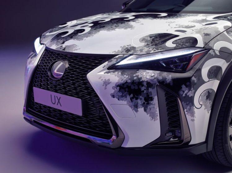 Lexus Unveils World's First Tattooed Car 8
