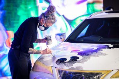 Lexus Unveils World's First Tattooed Car 3