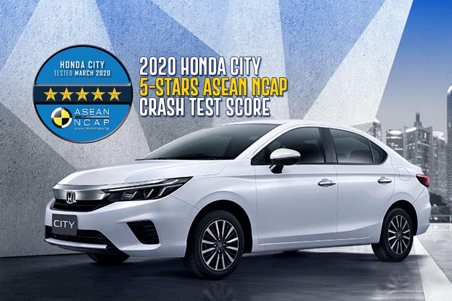 2020 Honda City Scores 5-Stars in Latest ASEAN NCAP Crash Tests 10