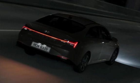 All New Hyundai Elantra Teased Ahead of 17th March Debut 3