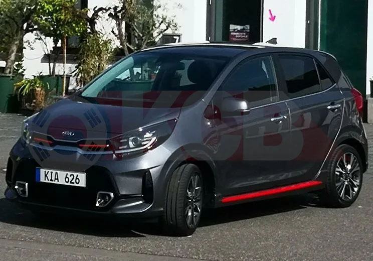 2021 Kia Picanto Facelift Spied Undisguised for the First Time 6