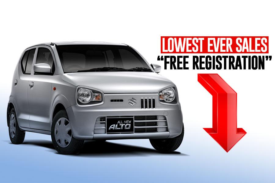 Pak Suzuki Alto- Lowest Ever Sales- Free Registration 4