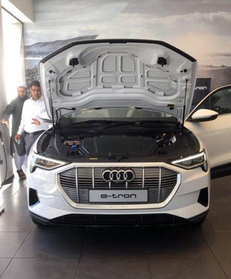 Audi Brings the E-tron Quattro Electric SUV to Pakistan 13