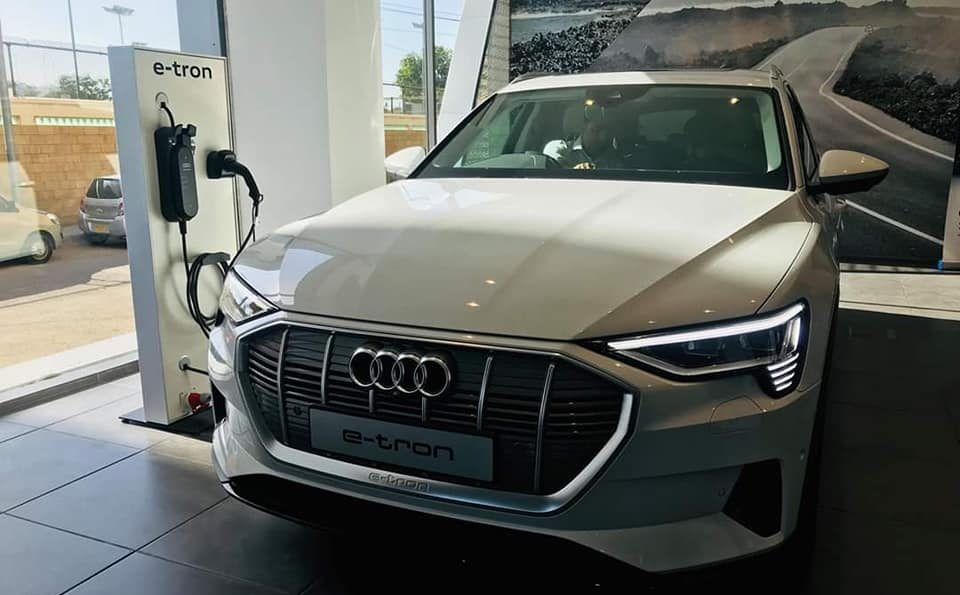 Audi Brings the E-tron Quattro Electric SUV to Pakistan 4