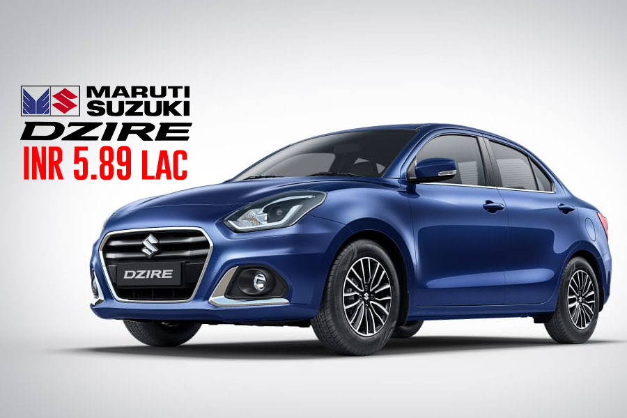 2020 Suzuki Dzire Facelift Launched in India from INR 5.89 lac 1
