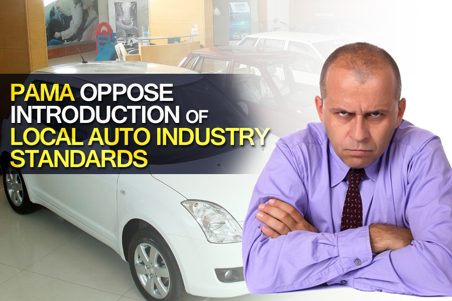PAMA Oppose Introduction of Local Auto Industry Standards 3