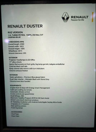 Renault Launches Duster Turbo in India Priced from INR 10.49 lac 12