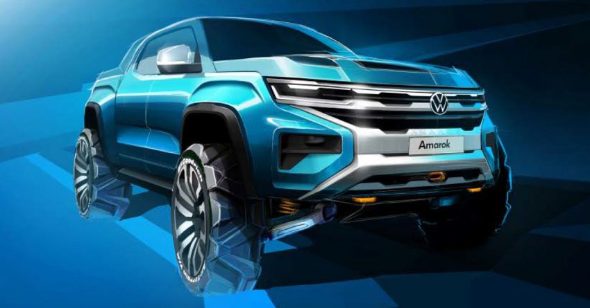 Volkswagen Teases the Second Generation Amarok 4