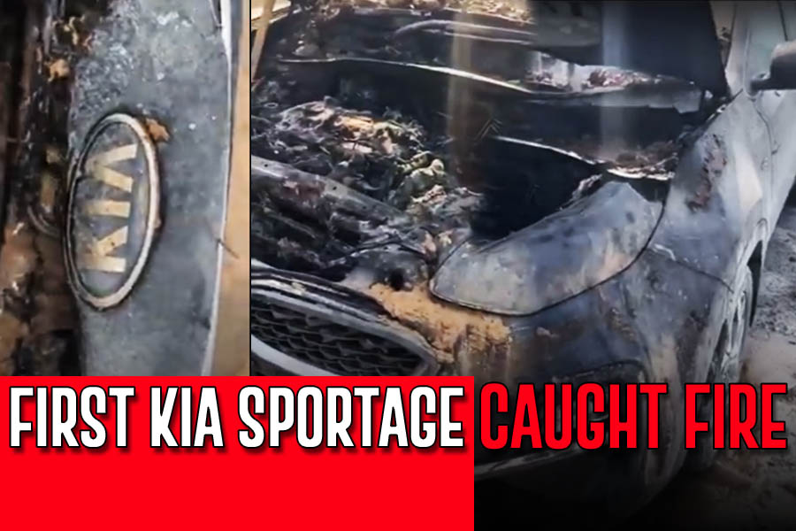 First Kia Sportage Catches Fire in Pakistan 4