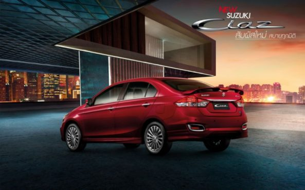 2020 Suzuki Ciaz Facelift Launched in Thailand 4