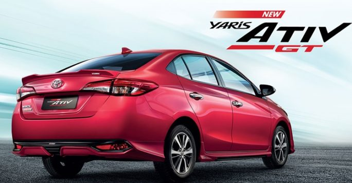 Toyota Updates the 2020 Yaris Ativ in Thailand 2