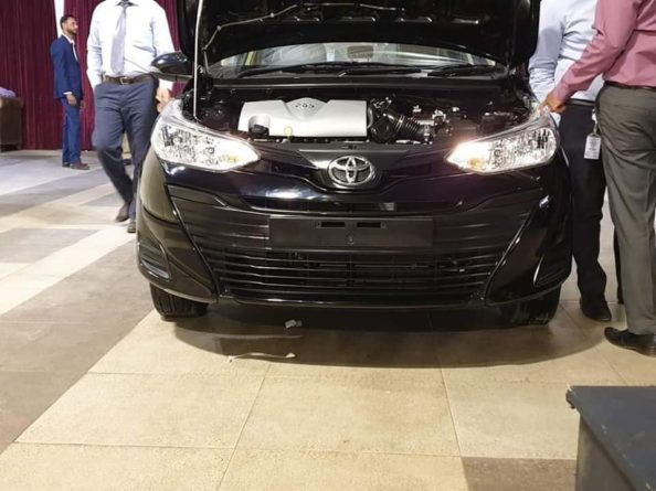 First Exclusive Images: 2020 Toyota Yaris in Pakistan 1