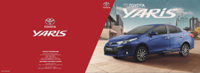 Official 2020 Toyota Yaris Brochure is Out 7