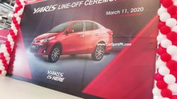First Local Assembled Toyota Yaris Rolls Off the Assembly Lines 1
