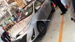 Toyota Yaris Test Drive Unit Spotted 5