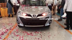 Toyota Yaris Test Drive Unit Spotted 4