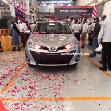 First Local Assembled Toyota Yaris Rolls Off the Assembly Lines 2