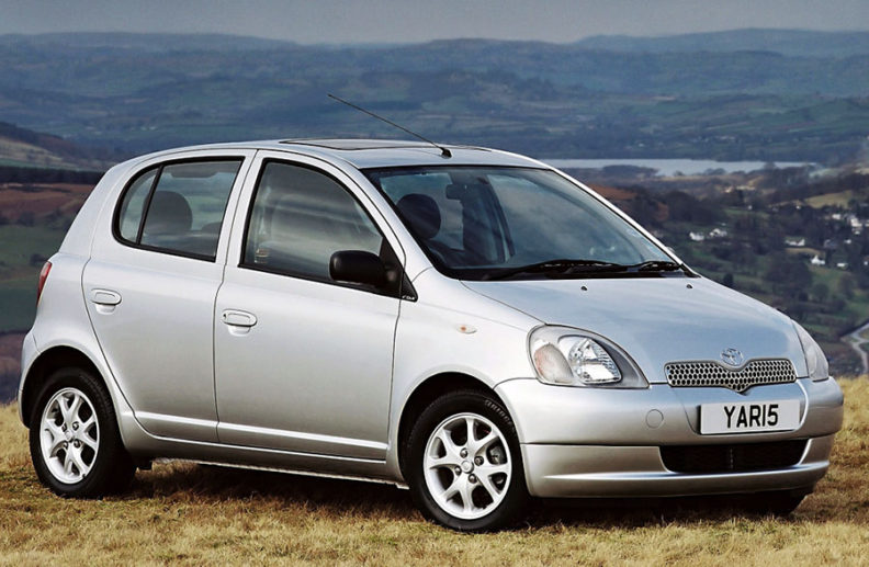 History: Toyota Yaris All Generations 1