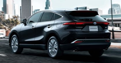 All New Toyota Harrier Goes on Sale in Japan 6