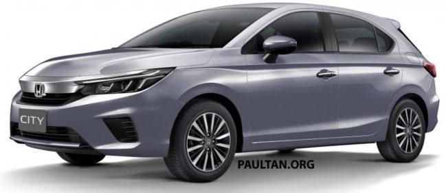Renderings: All New Honda City Hatchback 1