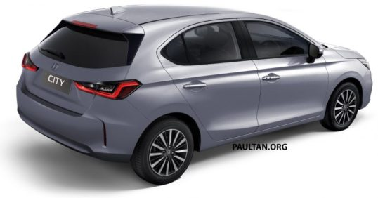 Renderings: All New Honda City Hatchback 2
