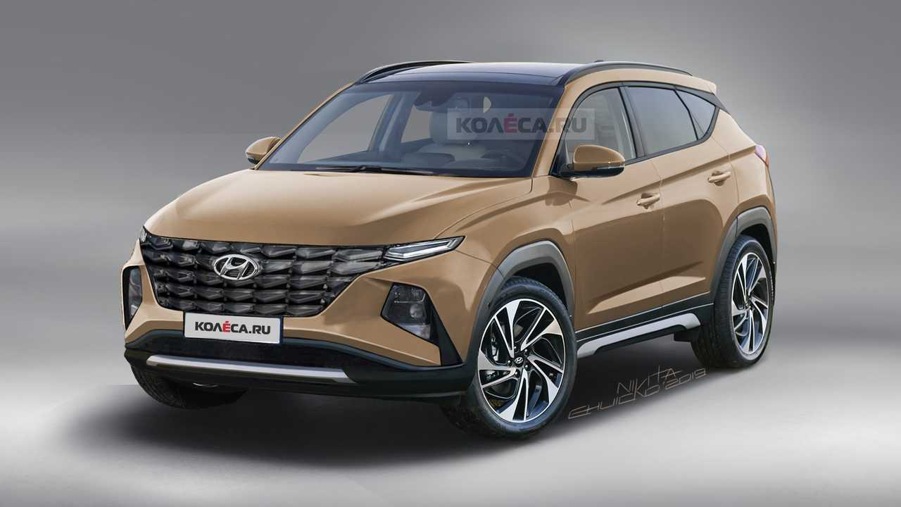 More Details on the 4th Gen Hyundai Tucson 4