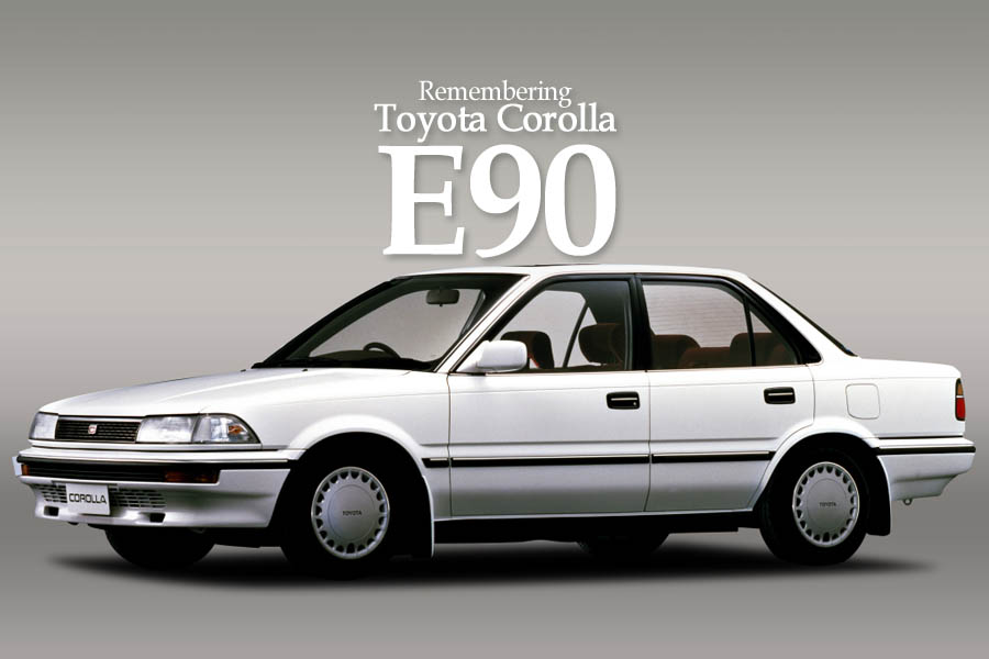 Remembering the Toyota Corolla E90 1