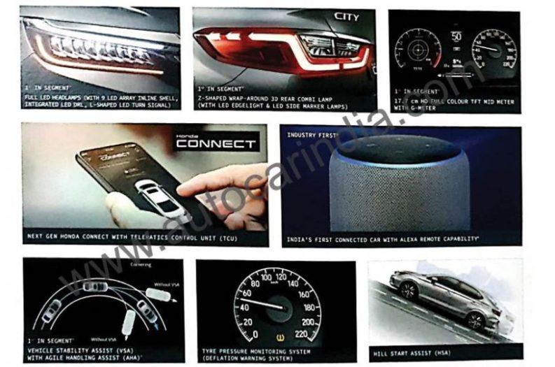 2020 Honda City Brochure Leaked Ahead of Launch in India 1