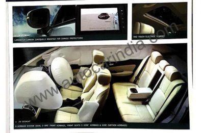 2020 Honda City Brochure Leaked Ahead of Launch in India 2
