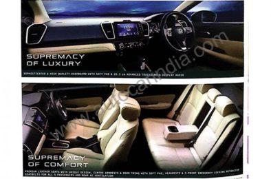 2020 Honda City Brochure Leaked Ahead of Launch in India 3