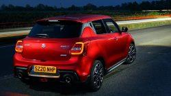 2020 Suzuki Swift Sport Becomes Hybrid Only 5