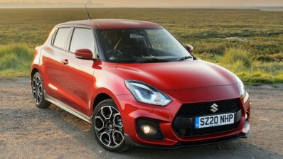 2020 Suzuki Swift Sport Becomes Hybrid Only 1