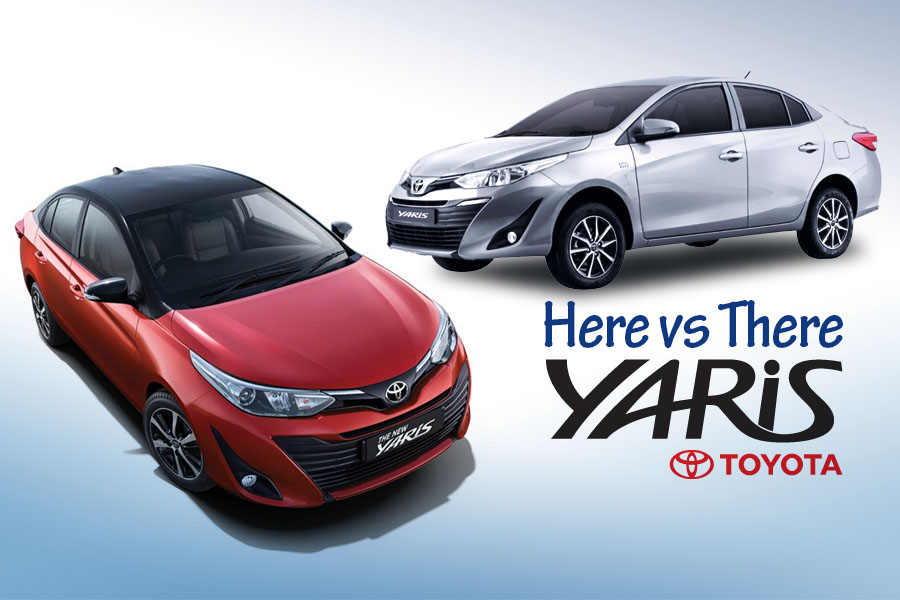 Toyota Yaris- Here vs There 10