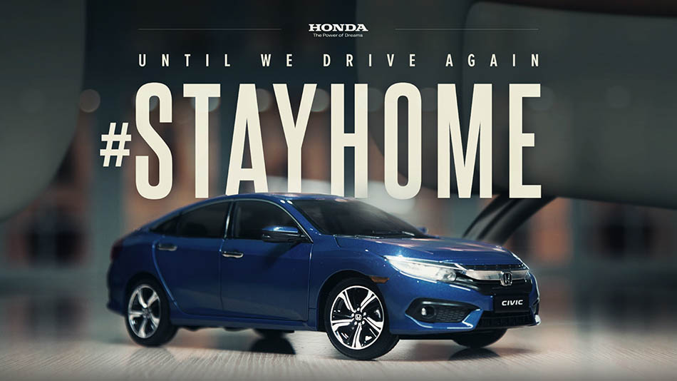 Honda's Latest Commercial Made Entirely from Home 1