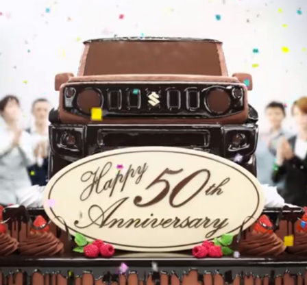 Suzuki Celebrates 50 Years of Jimny 1