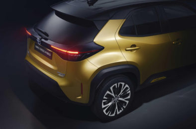 First Real-Life Images of 2020 Toyota Yaris Cross 12
