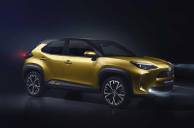 First Real-Life Images of 2020 Toyota Yaris Cross 10