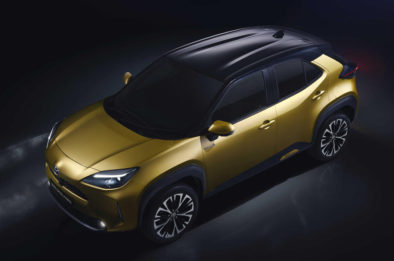 First Real-Life Images of 2020 Toyota Yaris Cross 9
