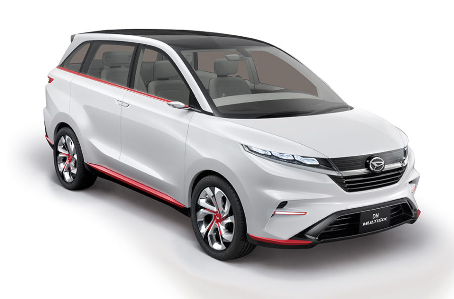 Toyota-Daihatsu Readying a New 6-Seat MPV 4