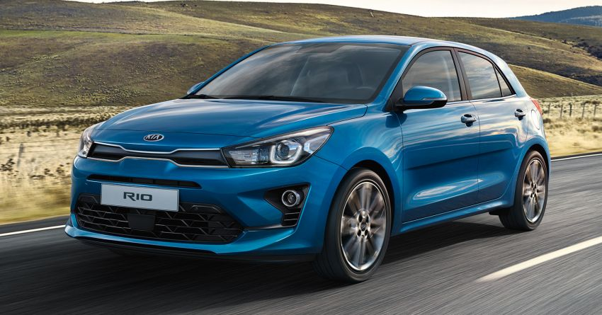 2020 Kia Rio Facelift Revealed 1