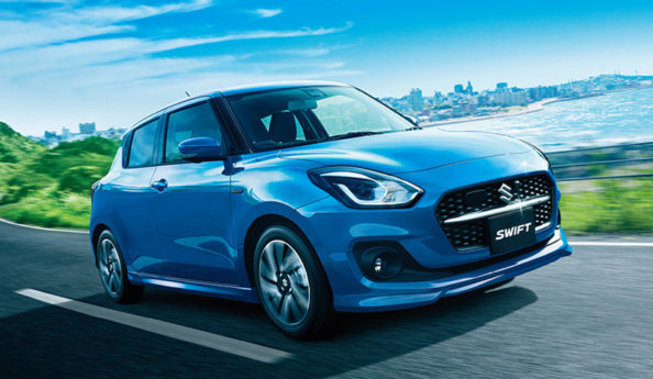 2020 Suzuki Swift Facelift Launched in Japan 7