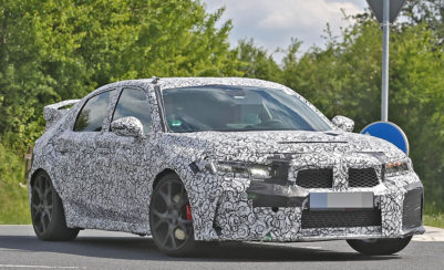 11th gen Honda Civic Type-R Spied for the First Time 2