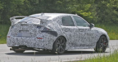 11th gen Honda Civic Type-R Spied for the First Time 5