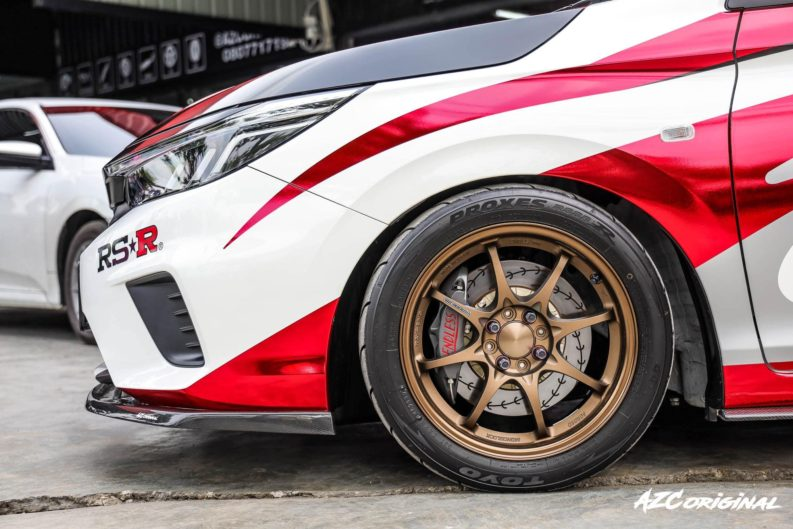 The Rally-Inspired Customized 2020 Honda City by RS-R Japan 6