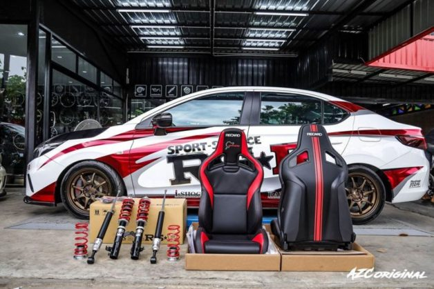 The Rally-Inspired Customized 2020 Honda City by RS-R Japan 10