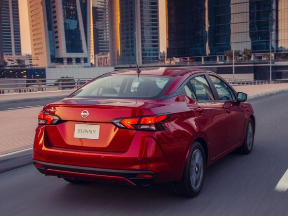 2020 Nissan Sunny Launched in Middle East 6