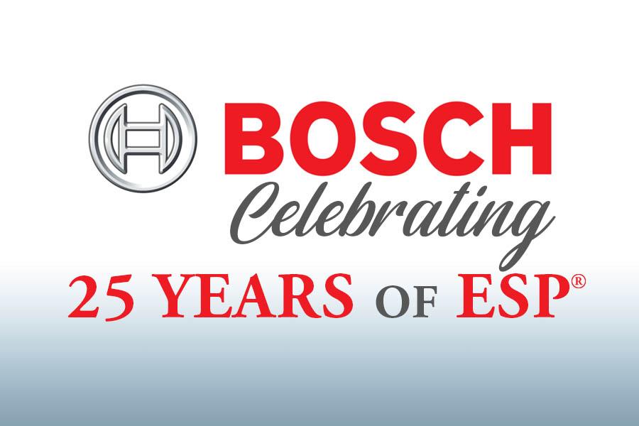 Bosch Celebrating 25 Years of ESP 4