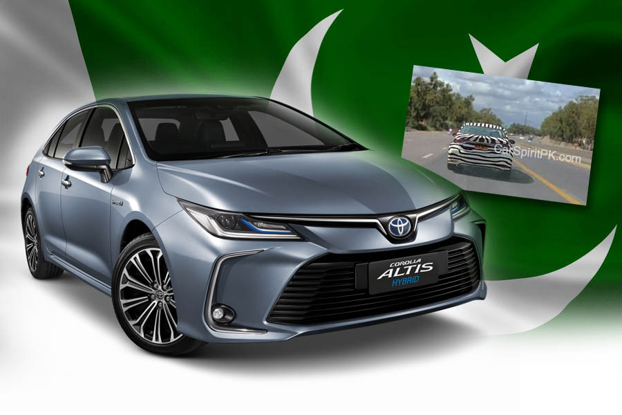 12th gen Toyota Corolla Spotted Testing in Pakistan 3