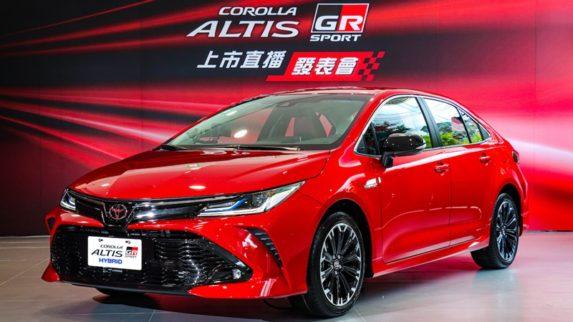 2020 Toyota Corolla Altis GR Sport Debuts in Taiwan 1